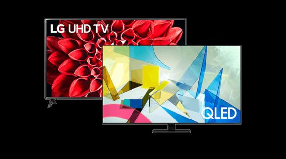 Escolhe a tua próxima Smart TV